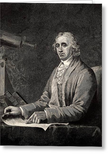 David Rittenhouse Greeting Card by Universal History Archive/uig