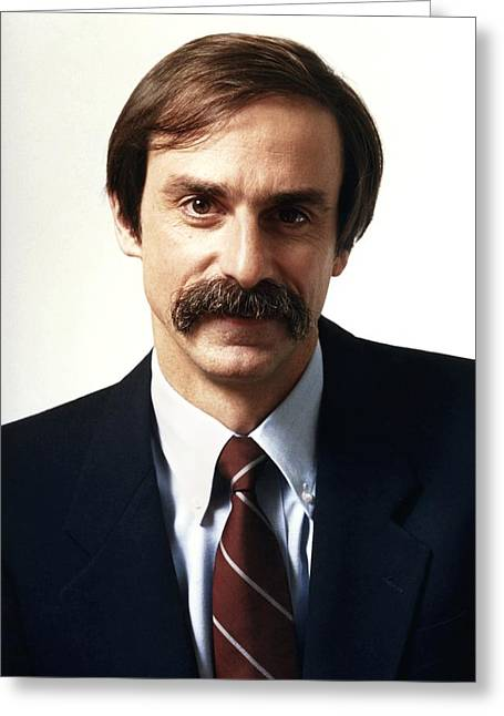 David Wineland, Us Physicist Greeting Card by Science Photo Library