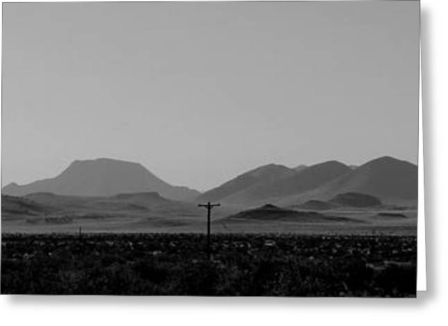 Davis Mountains #5 Greeting Card by Paul Anderson