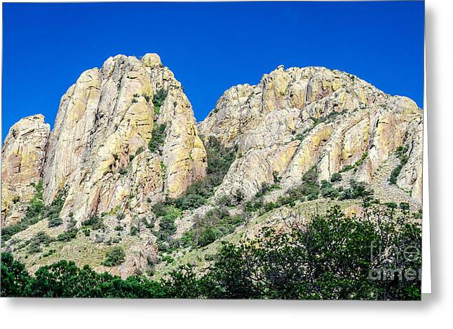 Davis Mountains Of S W Texas Greeting Card