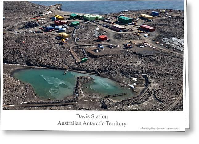 Davis Station 2 Greeting Card by David Barringhaus
