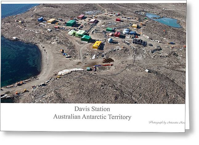 Davis Station 2012 Greeting Card by David Barringhaus