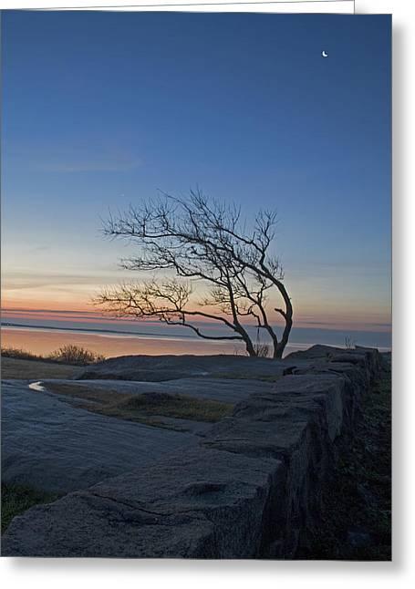 Dawn At Fort Phoenix Greeting Card