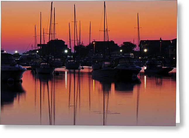 Dawn At Oak Bluffs Greeting Card by Dan Myers