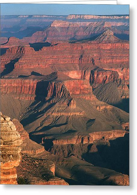 Dawn At The Grand Canyon Greeting Card by Greg Matchick