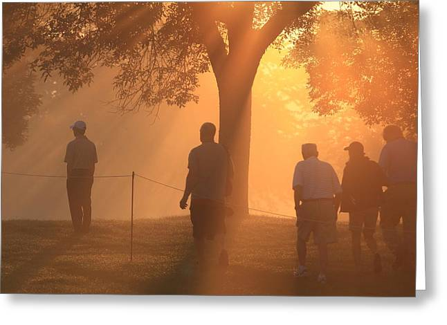 Greeting Card featuring the photograph Dawn At The Pga by Kate Purdy