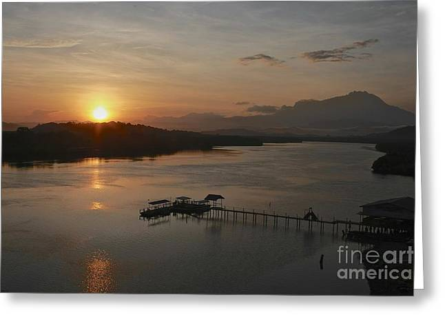 Dawn Break Greeting Card by Gary Bridger