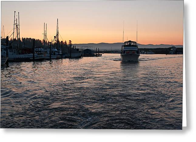 Greeting Card featuring the photograph Dawn Fishing by Erin Kohlenberg