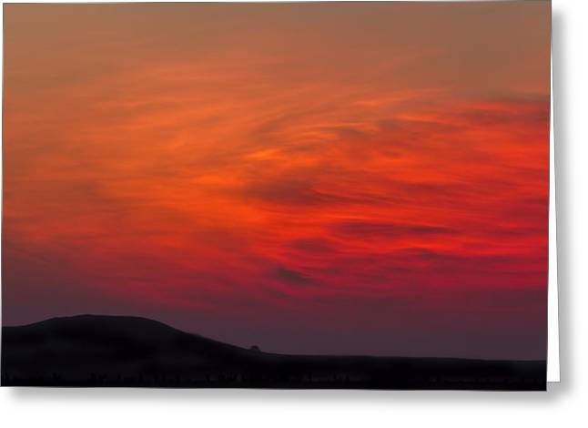 Dawn Glow Greeting Card