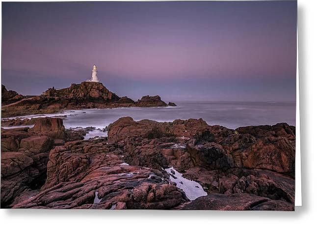 Dawn Hues At La-corbiere Greeting Card