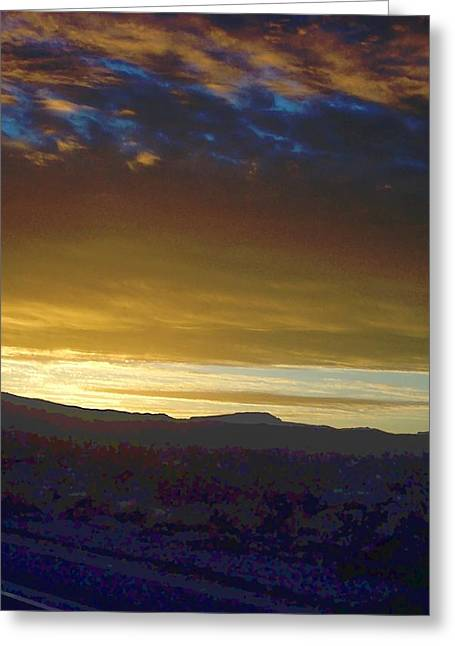 Dawn Of A New Day 2 Greeting Card by Glenn McCarthy Art and Photography