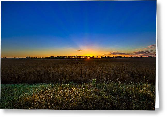 Greeting Card featuring the photograph Dawn Of A New Day by Adam Mateo Fierro