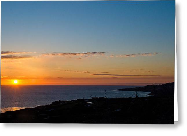 Greeting Card featuring the photograph Dawn Of A New Day by Joseph Hollingsworth