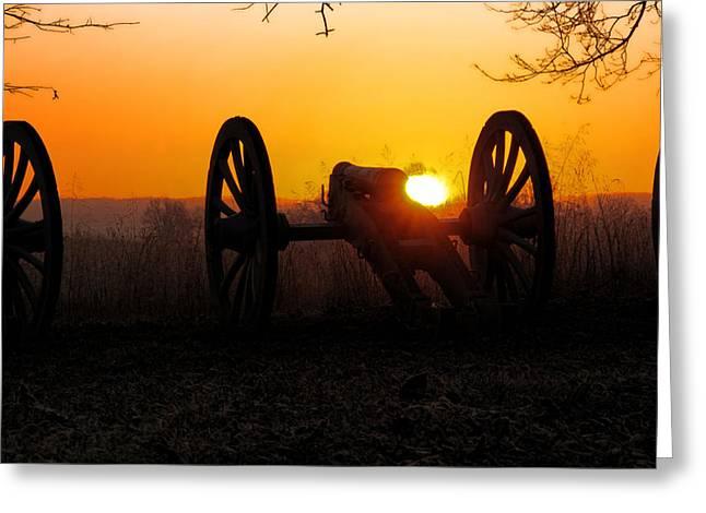 Dawn On The Battlefield Greeting Card