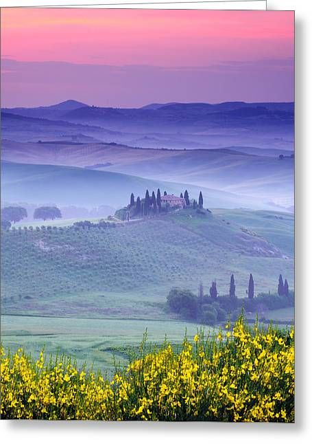 Dawn Over Belvedere Greeting Card
