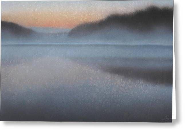 Dawn Parts The Mist Greeting Card