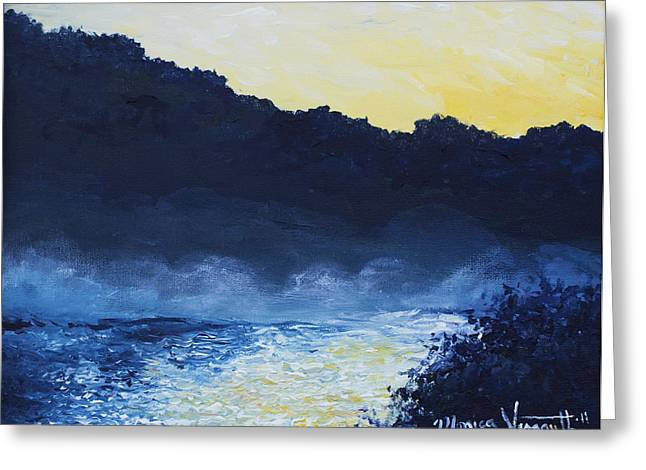 Dawn Reflections Greeting Card by Monica Veraguth