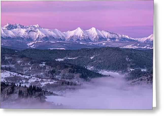 Dawn - Tatra Mountains Greeting Card
