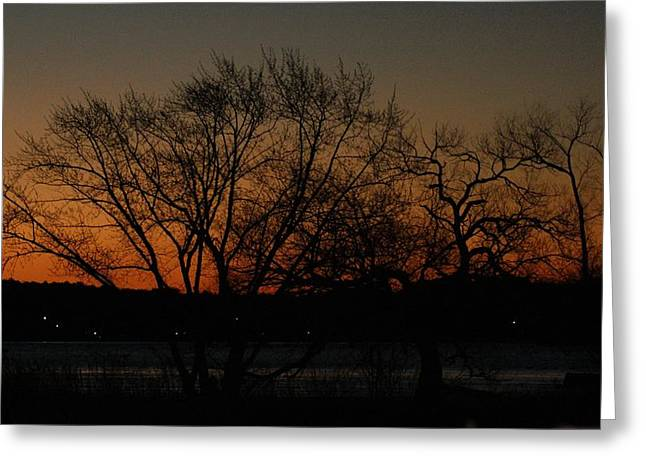 Dawns Early Light Greeting Card by Joe Faherty