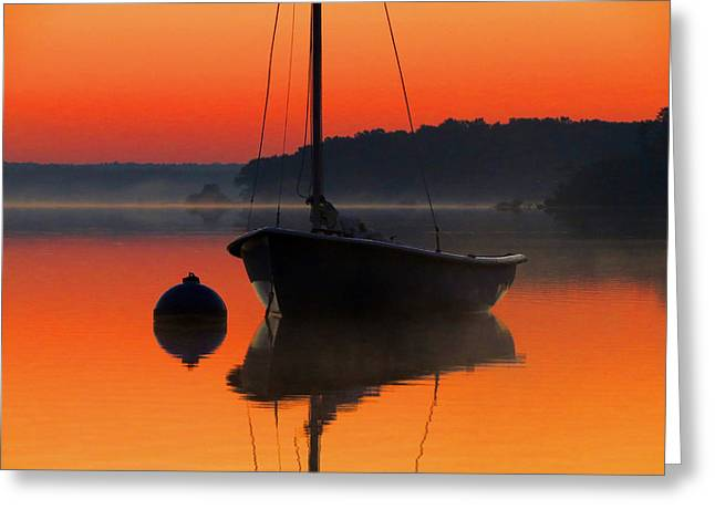 Greeting Card featuring the photograph Dawn's Light by Dianne Cowen