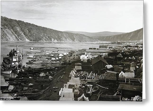 Dawson City Yukon Canada 1898 Greeting Card