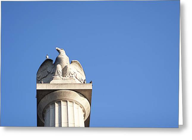 Day Watch Greeting Card by Eugene Bergeron
