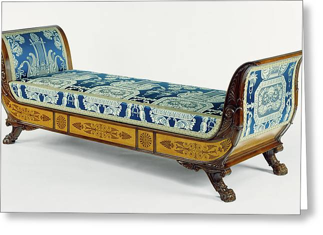 Daybed Gabriele Capello, Italian, 1806 - 1876 Greeting Card