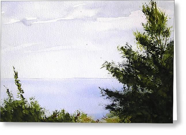 Daybreak Above Lake Superior Greeting Card