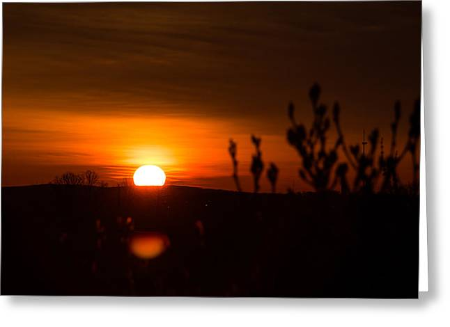 Sunrise Over The Battlefield Greeting Card
