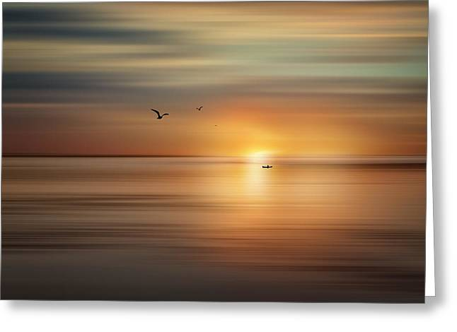 Daybreak Greeting Card by Gary Smith