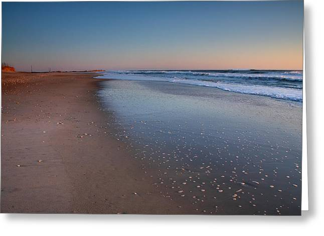 Daybreak On Hatteras II Greeting Card by Steven Ainsworth