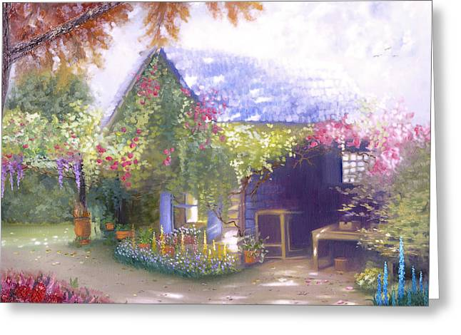 Daylesford Cottage Greeting Card