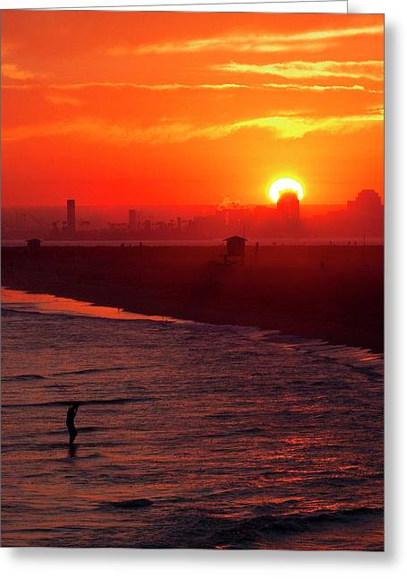 Greeting Card featuring the photograph Days End by Tom Kelly