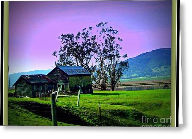 Greeting Card featuring the photograph Days Gone By by Bobbee Rickard