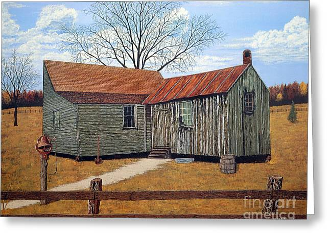 Days Gone By Greeting Card by Jeff McJunkin