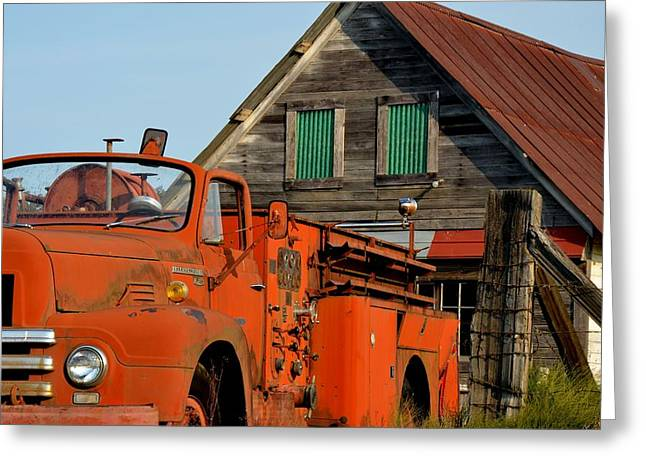 Days Gone By Greeting Card by Mark Bowmer