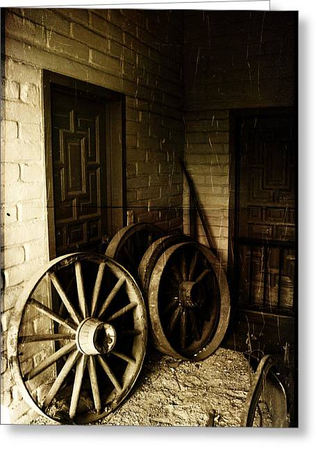 Days Gone By Greeting Card by Richard Stephen