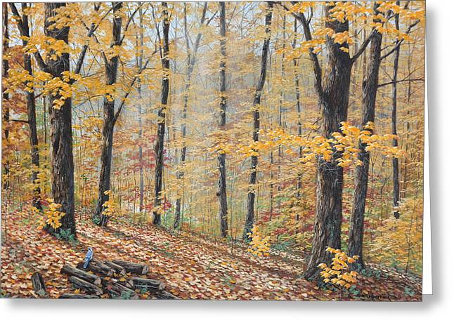 Days Of Autumn Greeting Card