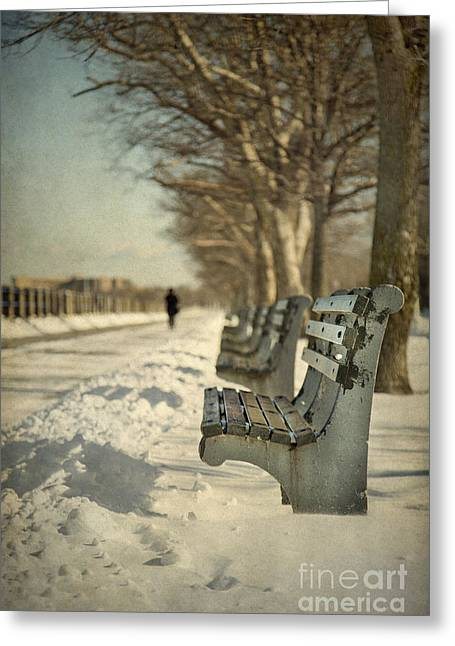 Days Of Cold Chills Greeting Card