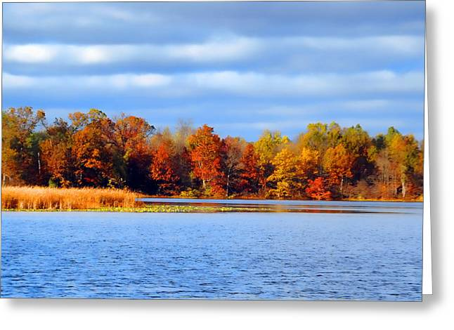 Dayton Lake Greeting Card