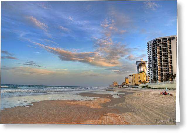Daytona Beach Shores Greeting Card