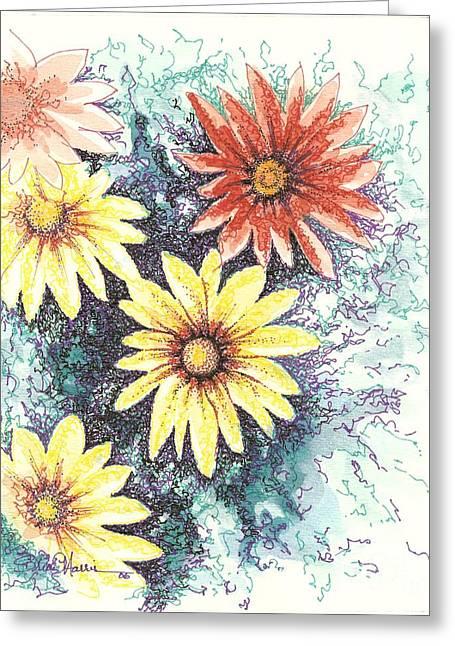 Dazzeled Greeting Card by Brian Edward Harris