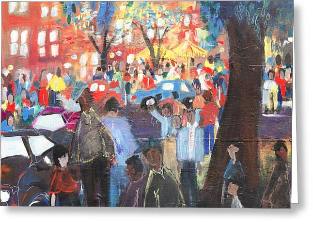 D.c. Market Greeting Card