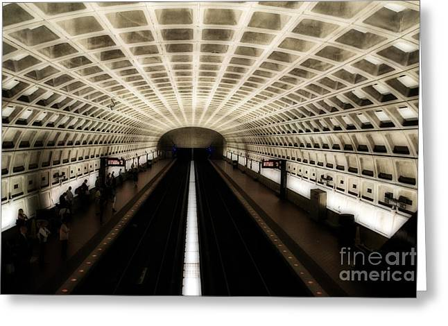 Dc Metro Greeting Card