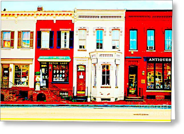 Dc Shops 4822 3311 003 Greeting Card