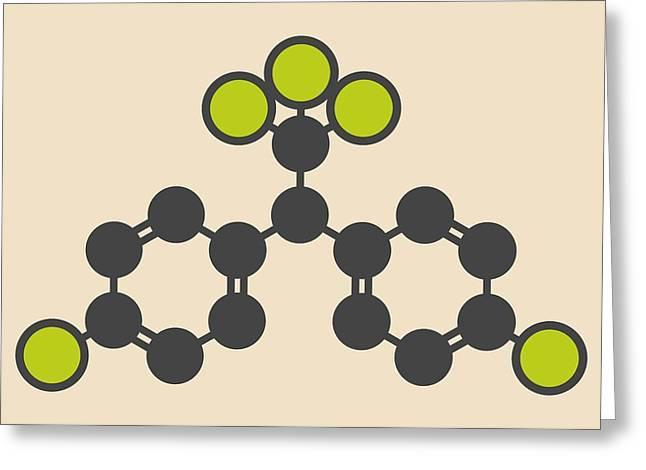 Ddt Molecule Greeting Card