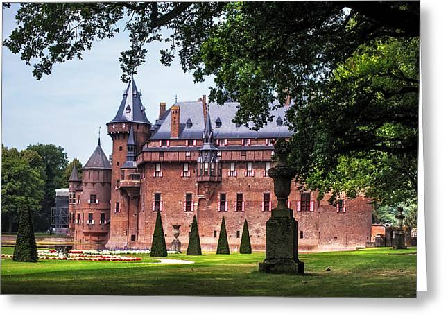 De Haar Castle 3. Utrecht. Netherlands Greeting Card