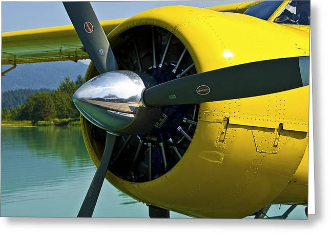 de havilland Beaver Greeting Card