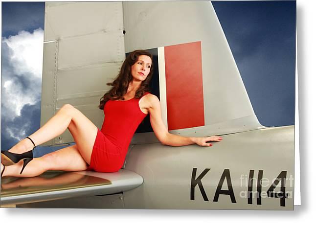 de Havilland Mosquito 02 Greeting Card