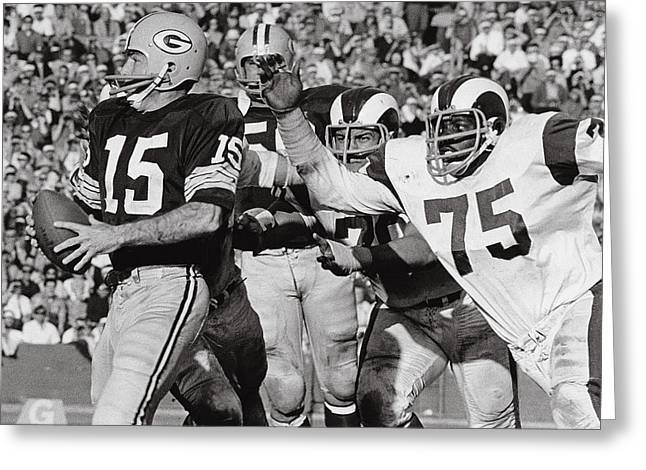 Deacon Jones Greeting Card